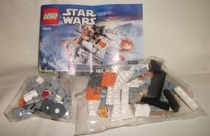 LEGO Star Wars Microfighters Snowspeeder Packs