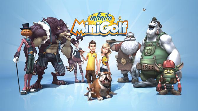 Infinite Minigolf coming soon to consoles