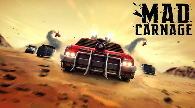 """""""Mad Carnage"""" out on Switch NOW!"""