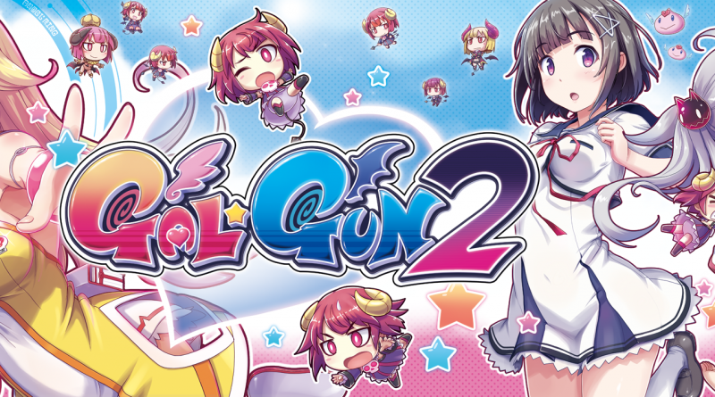 Gal*Gun 2 overheating Switch and PS4 consoles in APRIL!