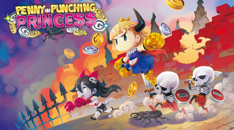 New Penny-Punching Princess trailer shows off characters!