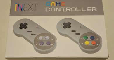 Console Accessories: iNNEXT USB Game Controller