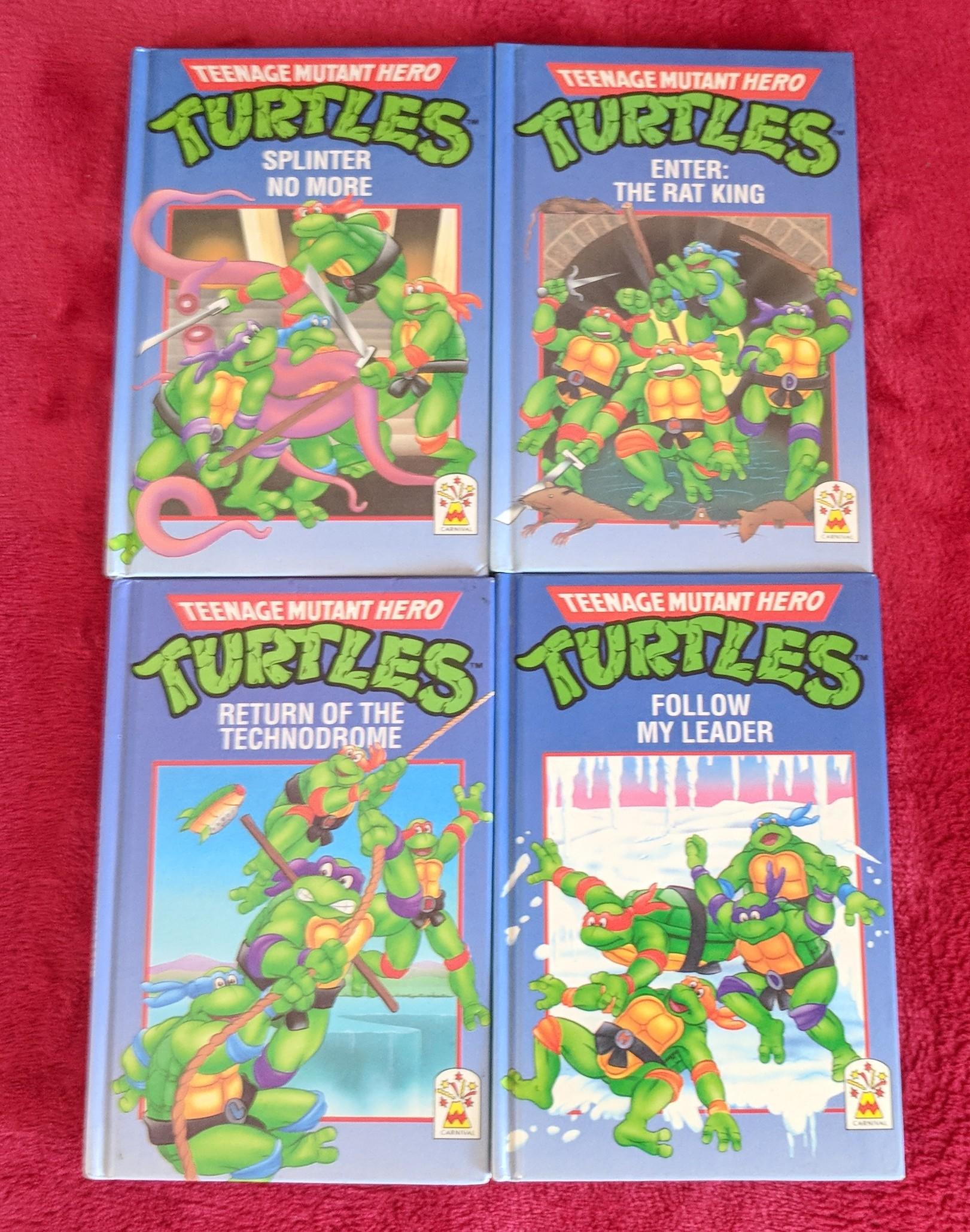 Teenage Mutant Ninja Turtles storybooks