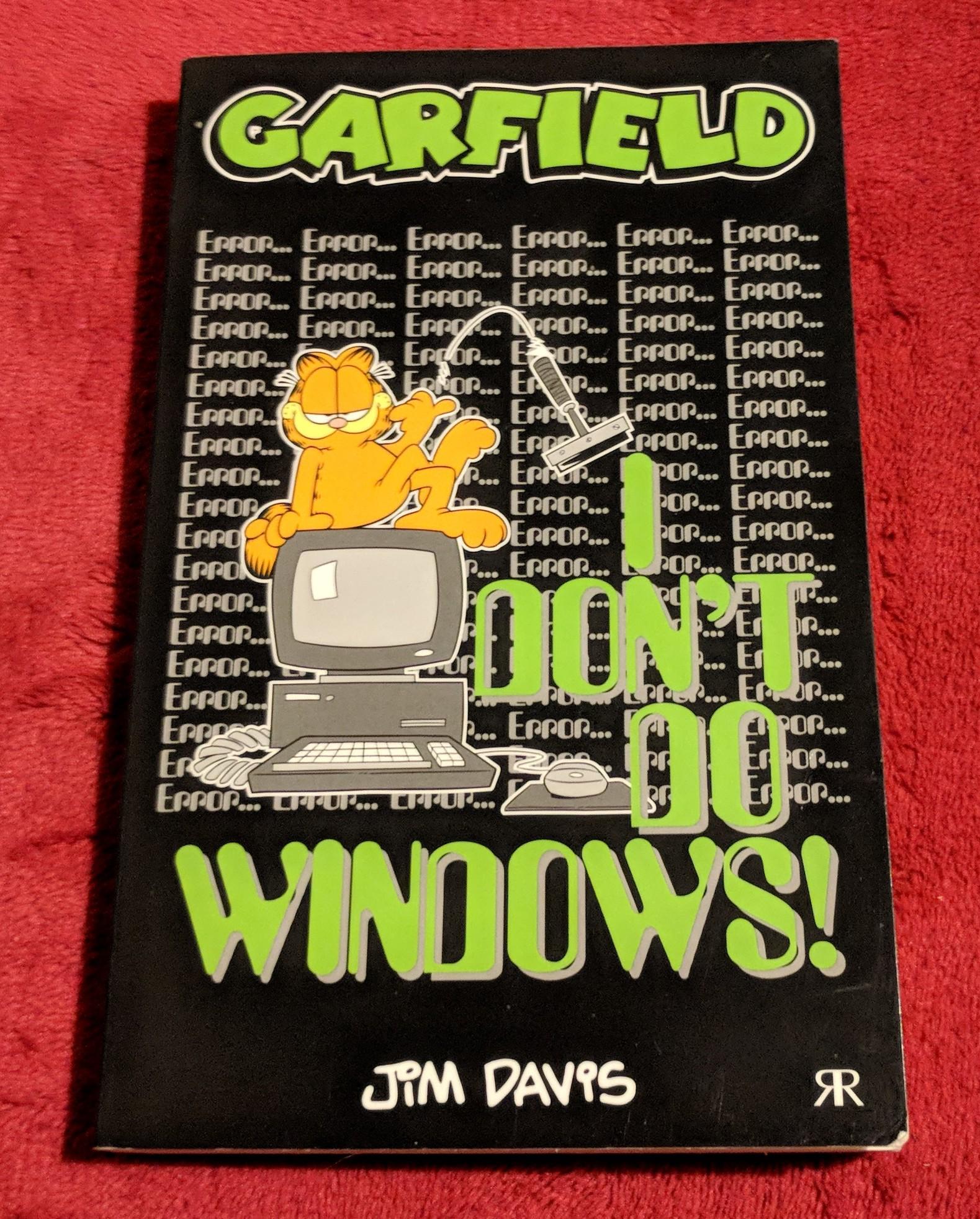 Garfield - I Don't Do Windows
