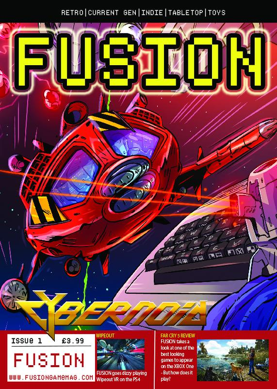 Fusion Issue 1 cover
