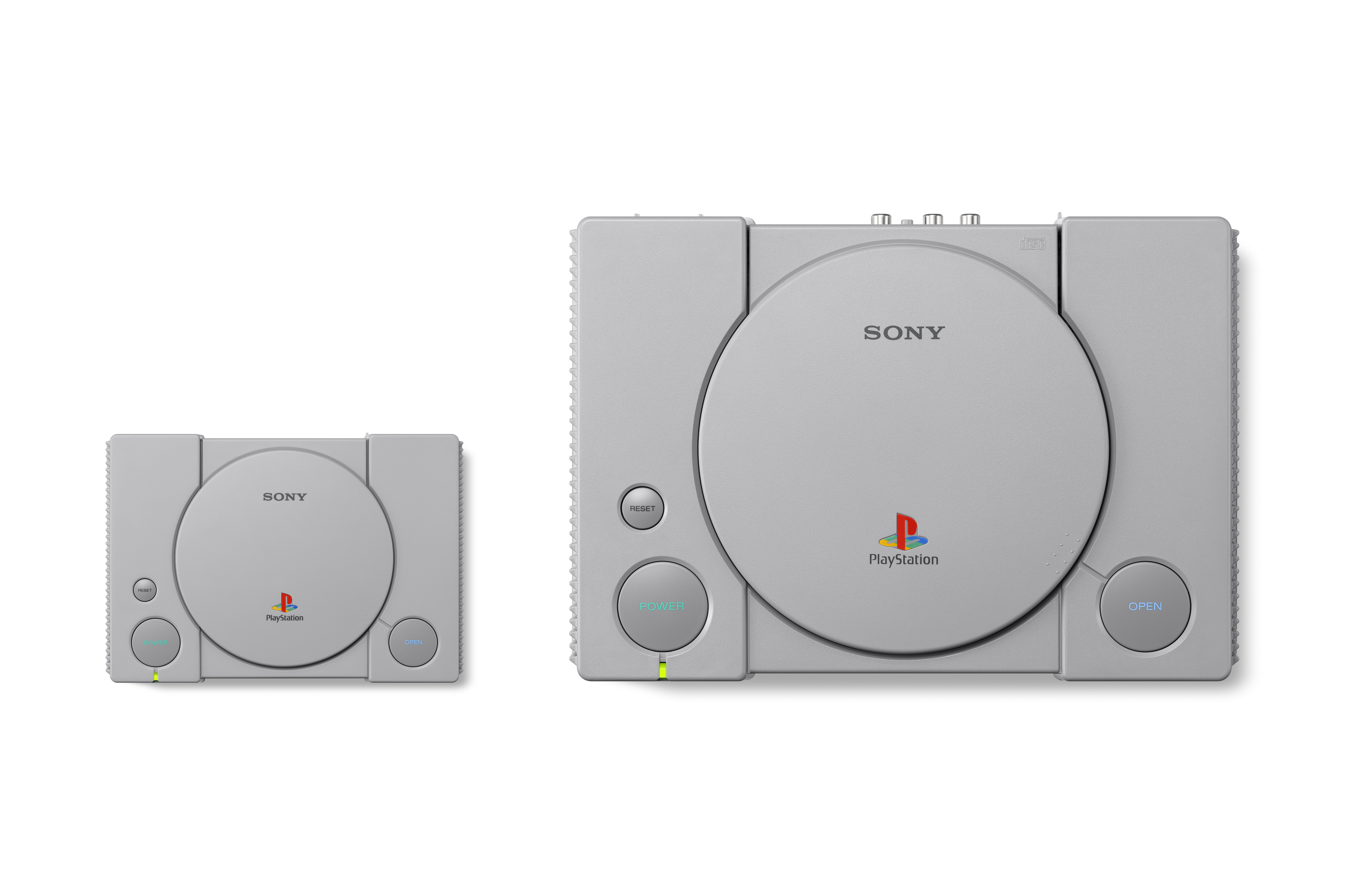 PlayStation Classic - size comparison