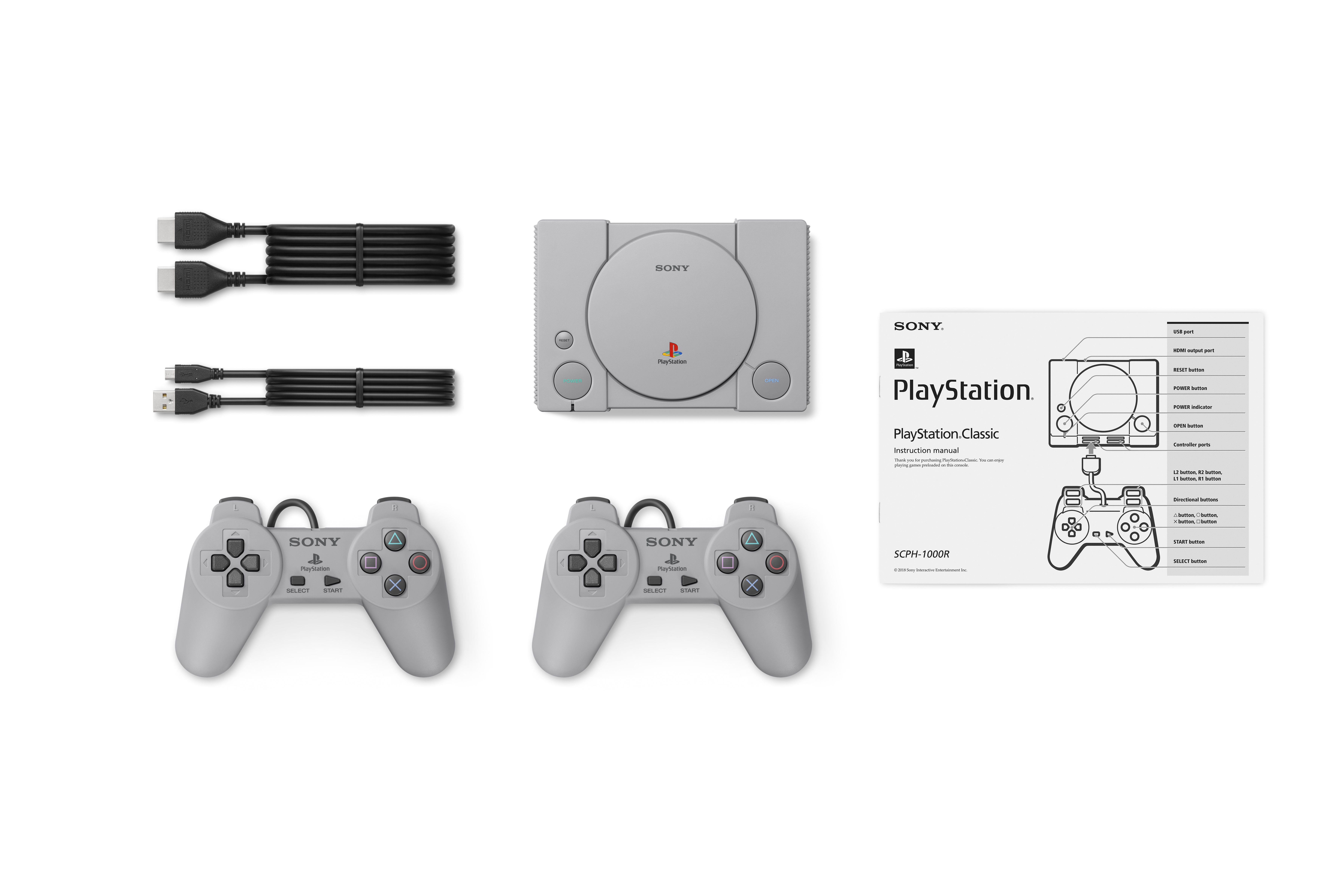 PlayStation Classic - what's included