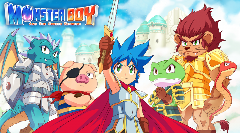 """""""Monster Boy and the Cursed Kingdom"""" is FINALLY releasing!"""